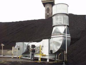 Englo Wet Dust Extractors Finn Equipment Dust Control In Mines